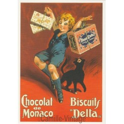 Postcard Chocolat de Monaco