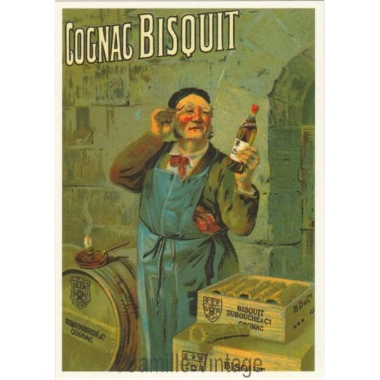 Carte Postale Cognac Bisquit