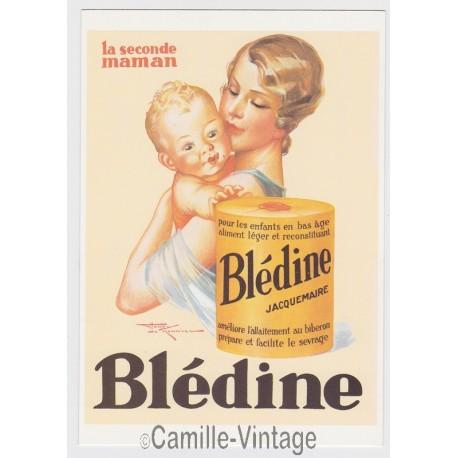 Postcard Blédine Jacquemaire la 2nd Maman