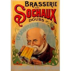 Affiche Bière La Savoureuse