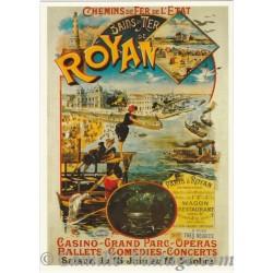 Carte Postale Bains de Mer de Royan