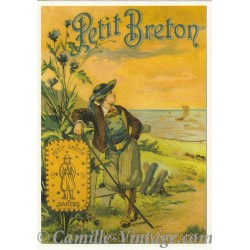 Carte Postale Biscuits Petit Breton