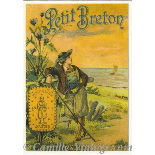 Postcard Biscuits Petit Breton
